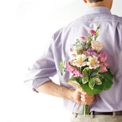 цветы сюрприз