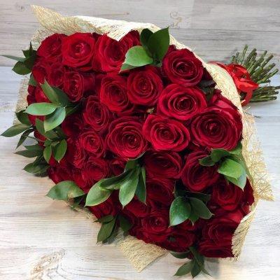 51 красная роза (букет)