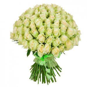 Букет былых роз 101 штука
