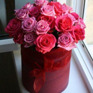 """Цветы в коробке """"Светлая жизнь"""""""