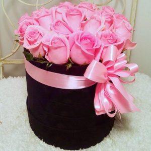 Букет «Розовая пантера»