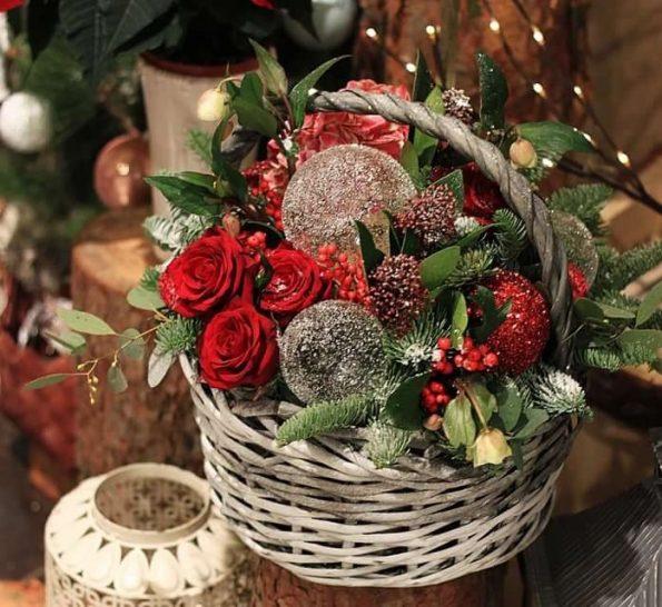 Какие цветы лучше подарить на новогодние праздники