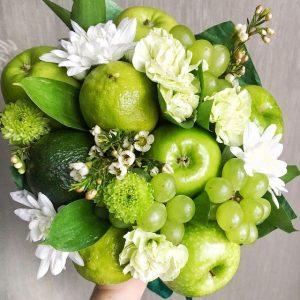 Букет «Цветущая зелень»