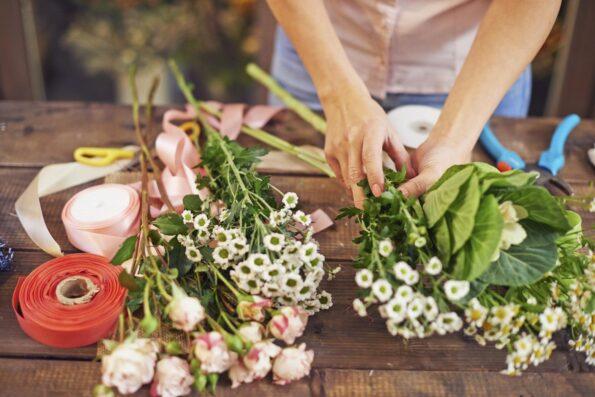 Букет цветов как способ поблагодарить человека