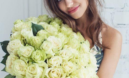 Цветы жене на день рождения