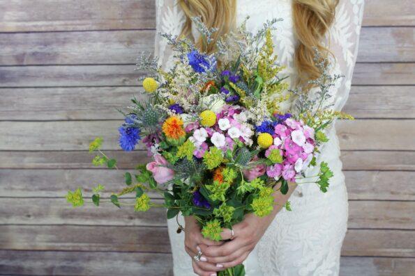 Летний букет цветов: июнь