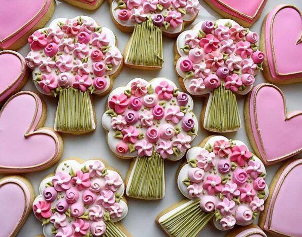 Как приготовить цветочное печенье в домашних условиях